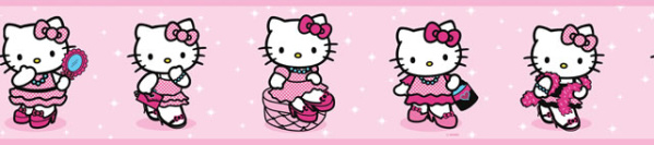 BORDER WALLPAPER HELLOKITTY 4 | Border Wallpaper-Border wallpaper ...
